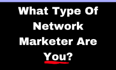 What Type Of Network Marketer Are You?